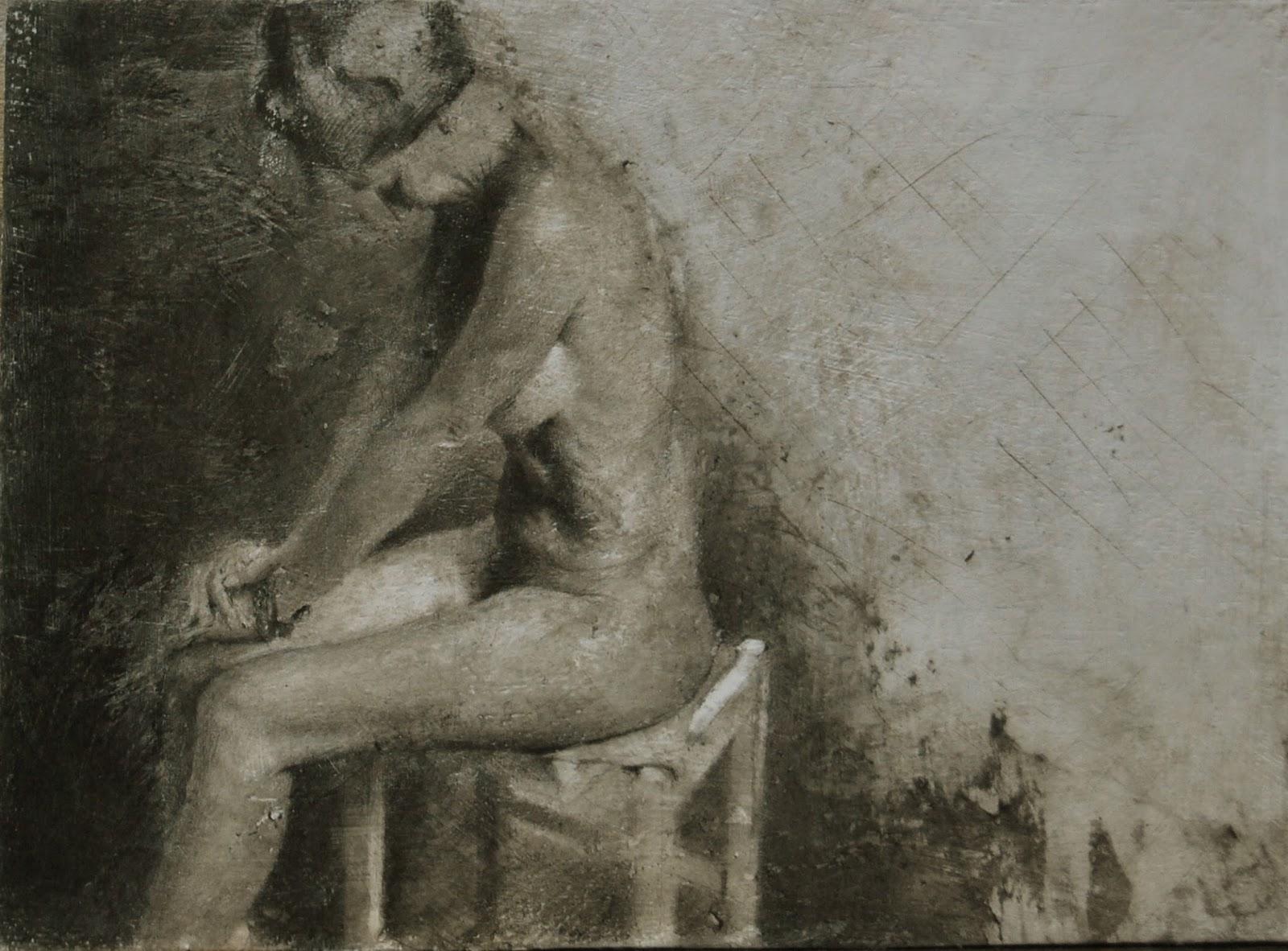 Desnudo en el estudio
