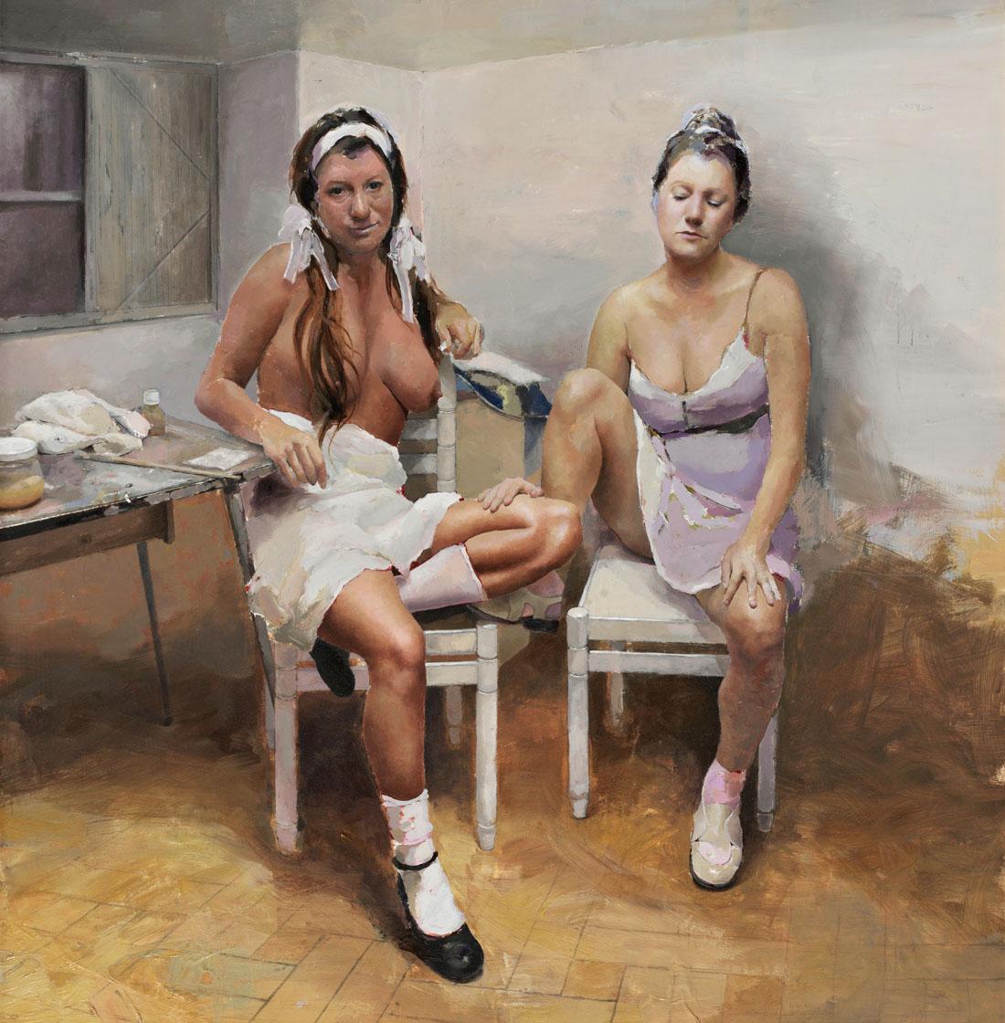 Mujeres en el estudio
