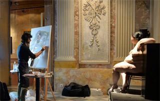 El Oficio de Pintor en el MEAM (Museu Europeu d'Art Modern).