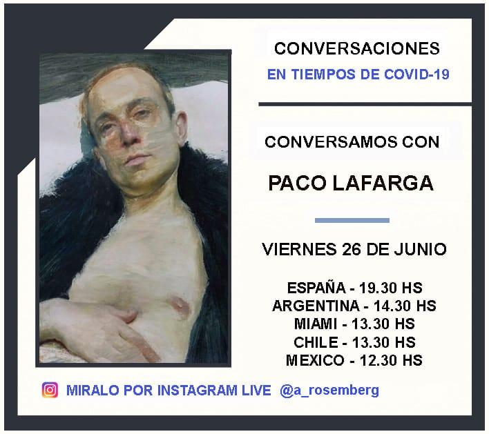Conversarciones con Paco Lafarga COVID-19