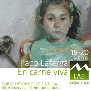 Paco Lafarga en carne viva Salamanca